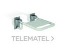 Asiento abatible nylon base inoxidable con referencia GW11 38 09 00 de la marca GENWEC.