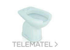 Inodoro porcelana con apertura higiénica salida pared con referencia GW11 43 07 00 de la marca GENWEC.