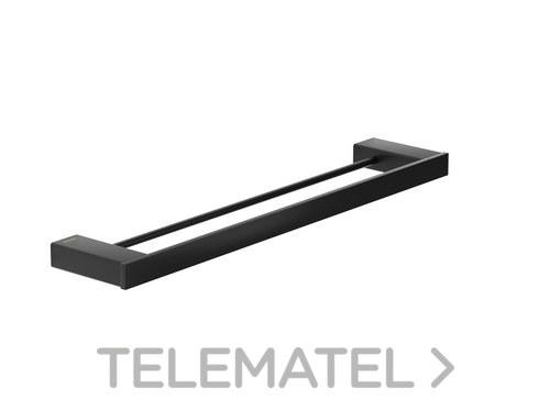 Toallero barra doble serie Pompei inoxidable 304 con referencia GW05 65 04 03 de la marca GENWEC.