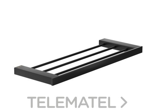 Toallero repisa serie Pompei inoxidable 304 con referencia GW05 67 04 03 de la marca GENWEC.