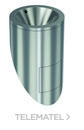 Urinario redondo inoxidable 304 satinado con referencia GW08 60 04 01 de la marca GENWEC.