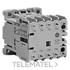 Contactor auxiliar mcrc022at-t2r2 12v mando corriente