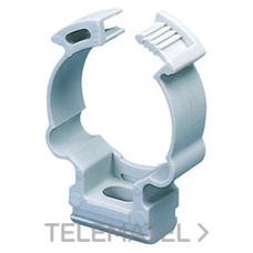 GEWISS GW50630 Collarín de presión en polímero antichoque para tubos con diámetro de 40mm gris RAL7035