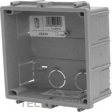 GOLMAR 11280610 Caja empotrar placas 1 módulo