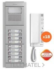 GOLMAR 11505218 Kit edificio audio E5218/T-562 18P
