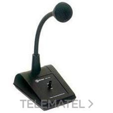 GOLMAR 20351100 Micrófono cápsula dinámico 600Oh PM100 sobremesa