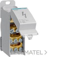 HAGER KJ02DN Bloque de conexión 1P 125A 2x35+2x16/6x10mm²