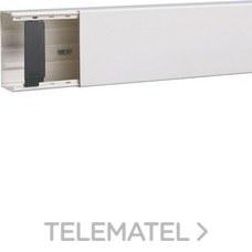 HAGER LFF6011009010 Canal LF con 1-4 compartimentos 60x110 blanco nieve