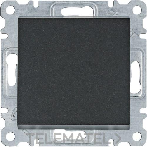 Conmutador Lumina intense negro con referencia WL0023 de la marca HAGER.