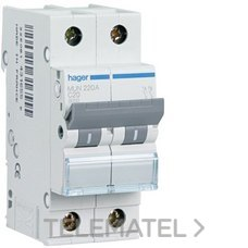 HAGER MUN516A Interruptor automático 1P+N 16A curva-C 6kA