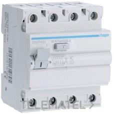 HAGER CDC742J Interruptor diferencial 4P 40A 30mA AC