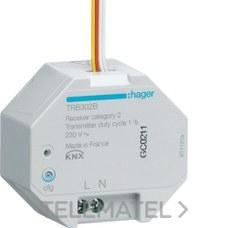 MODULO 2 ENTRADAS VIA RADIO QUICKLINK EMPOTRAR 230V con referencia TRB302B de la marca HAGER.