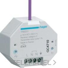 MODULO SALIDA VIA RADIO QUICKLINK ON/OFF EMPOTRAR con referencia TRB201 de la marca HAGER.