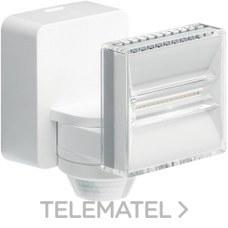 Proyector LED 12W 1200 lumenes con detector de movimiento blanco con referencia EE632 de la marca HAGER.