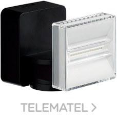 Proyector LED 12W 1200 lumenes negro con referencia EE646 de la marca HAGER.