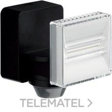 Proyector LED 8W 700 lumenes con detector de movimiento negro con referencia EE641 de la marca HAGER.
