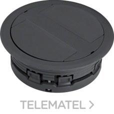 SALIDA CABLE >20mm ANTRACITA con referencia LAFKG209005 de la marca HAGER.