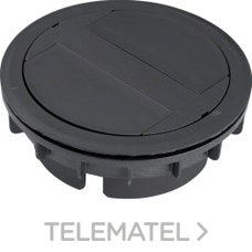 SALIDA CABLE <20mm ANTRACITA con referencia LAFKK209005 de la marca HAGER.