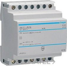 HAGER ST313 Transformador 16VA 230/12-24V