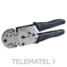 ALICATES HUPCOMPACT HC01 PARA TERMINAL PREAISLADO con referencia 213090 de la marca HAUPA.
