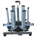 DESBOBINADOR ROLLO CABLE 400x400x390mm con referencia 143404 de la marca HAUPA.