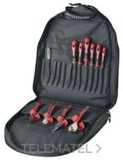 Mochila BackpackPro Basic 1000V 11 herramientas con referencia 221277 de la marca HAUPA.