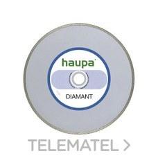 MUELA PARA TRONZAR DIAMANTE 105mm con referencia 230714 de la marca HAUPA.
