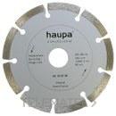 MUELA PARA TRONZAR DIAMANTE 115mm con referencia 230689 de la marca HAUPA.