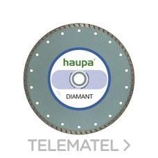 MUELA PARA TRONZAR DIAMANTE 115mm con referencia 230722 de la marca HAUPA.