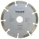 MUELA PARA TRONZAR DIAMANTE 125mm con referencia 230691 de la marca HAUPA.