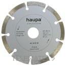 MUELA PARA TRONZAR DIAMANTE 125mm con referencia 230702 de la marca HAUPA.