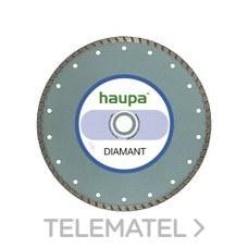 MUELA PARA TRONZAR DIAMANTE 125mm con referencia 230723 de la marca HAUPA.