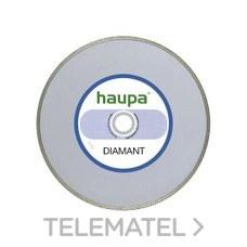 MUELA PARA TRONZAR DIAMANTE 180mm con referencia 230708 de la marca HAUPA.