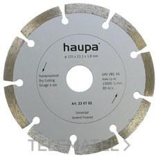 MUELA PARA TRONZAR DIAMANTE 230mm con referencia 230706 de la marca HAUPA.