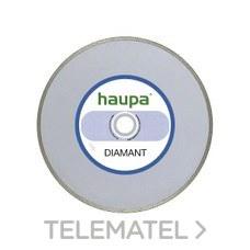 MUELA PARA TRONZAR DIAMANTE 230mm con referencia 230709 de la marca HAUPA.