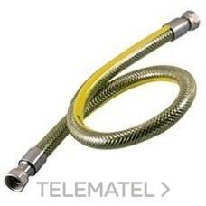 CONEXION FLEXIBLE CFI GAS TUERCA LOCA HEMBRA-HEMBRA 1000 1/2 INOXIDABLE con referencia 5051000000 de la marca HECAPO.
