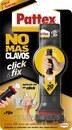 Adhesivo Pattex no más clavos Click&Fix 30g sobremesa display con referencia 2367685 de la marca HENKEL.