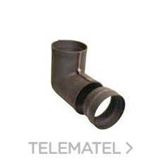 CODO HIERRO FUNDIDO 90 DIAMETRO 150mm con referencia 7505013 de la marca HERGOM.