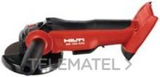AMOLADORA ANGULO, ANGULAR BATERIA AG125-A22 con referencia 02004076 de la marca HILTI.
