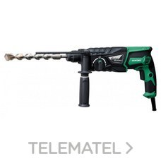 MARTILLO COMBINADO SDS PLUS 800W 3,2J con referencia DH26PC de la marca HITACHI TOOLS.