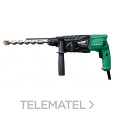 MARTILLO PERFORADOR SDS PLUS 730W 2,7J con referencia DH24PG de la marca HITACHI TOOLS.