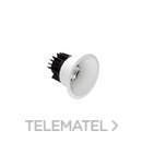 Downlight redondo LED negro LAOS 9 9W ON-OFF 3000K 100-240V 38° CRI80 IP44 con referencia 111001212 de la marca HOFF LIGHTS.