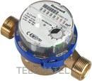 CONTADOR AGUA CALIENTE SANITARIA EW110 DN15 1,6m3/h 50º 110mm con referencia EW1100AC0600 de la marca HONEYWELL.