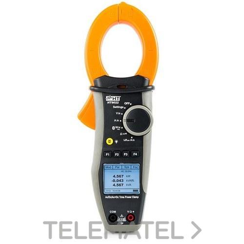 Pinza vatimétrica HT9023 TRMS CATIV + 1500Vcc especial fotovoltaico con referencia 0923 de la marca HT-INSTRUMENTS.