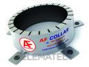 Collarín intumescente AF INOX 90 EI 120/180 con referencia AFG51E de la marca HYDRAFIX.
