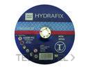 DISCO ABRASIVO PARA HIERRO 115x1x22mm con referencia 8900H11510 de la marca HYDRAFIX.
