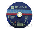 DISCO ABRASIVO PARA HIERRO 115x2,5x22mm con referencia 8900H11525 de la marca HYDRAFIX.