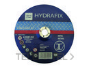 DISCO ABRASIVO PARA HIERRO 230x2,5x22mm con referencia 8900H23025 de la marca HYDRAFIX.