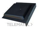 PLACA SIFON 400x400mm POLIPROPILENO NEGRO con referencia 3650740 de la marca HYDRAFIX.