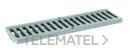REJA PASARELA ECOCANAL 100 100x500 PLASTICO GRIS con referencia 36513RG de la marca HYDRAFIX.